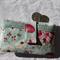 Mushroom & Flowers phone purse