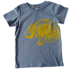 Short Sleeve Tee - Yellow Print