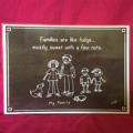 'My Family' Funny  Mini Poster