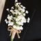Baby's Breath Buttonhole for Groom or Groomsman -  Gypsophila Wedding Buttonhole