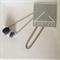 BASICS Necklace {Black + Stone + Pumice}