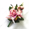 Lady's Pin-on Corsage - Pink Rosebuds. Corsage for Mothers