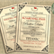 Titanic Birthday Event Invitation | Nautical Titanic Wedding | Printable