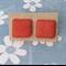 'Watermelon Crush' Handmade Polymer Clay Stud Earrings