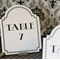 Wedding Table Numbers | 1920s Art Deco Table Numbers | Gatsby Party Decorations