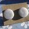 'Lilac Mist' Handmade Polymer Clay Stud Earrings