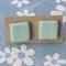 'Sea Foam' Handmade Polymer Clay Stud Earrings