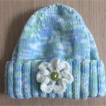 Beanie with Flower