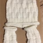 Baby Beanie and matching Sock Set