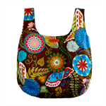 Reversible market tote.  Eco friendly.