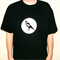 Mens magpie screen printed tshirt size L