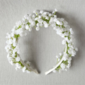Baby's Breath Headband - Flower-girl, Wedding, Communion