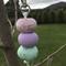 'Pastel Dream' Handmade Polymer Clay Key Ring