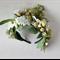 Green Floral Bo Ho Headband