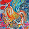 Rooster Red: original painting
