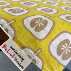 Mustard Apple table runner. Add character to your dining table. Made to Order.