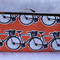 Orange bicycle clutch