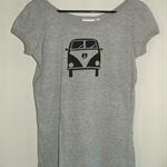 Womens kombi van and various other design short sleeve screen printed tshirt
