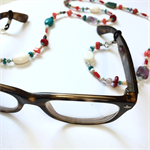 Glasses holder or necklace - Semi-precious stones