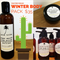 Palm Tribe Winter Body Pack - 3 products - natural skincare