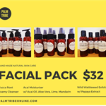 Palm Tribe Facial Pack - 3 products - natural skincare