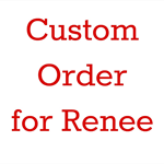 Custom Order for renee - Black  Tail and Ears