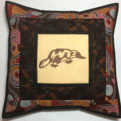Australiana cushion cover - Platypus