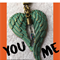YOU AND ME angel keyring