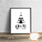 Wild and Free Teepee - Wall Art Print