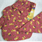 3 pce Baby Bibs and Burp cloth set