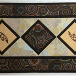 Australiana table runner - Platypus