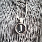 Personalised - Vintage Typewriter Key Pendant - 100% Authentic Keys - Customised