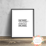 Home Sweet Home - Wall Art Print