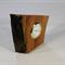Unknown Hardwood Timber Clock #art0379