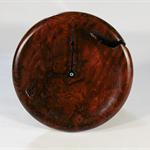 Redgum Burl Timber Wall Clock #art0375