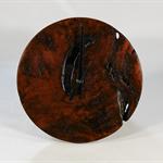 Redgum Burl Timber Wall Clock #art0377