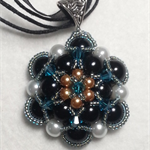 Flower Beaded Necklace