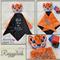 Minky Tiger 'Ruggybud' - personalised, comforter, keepsake, lovey.