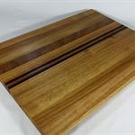 Edge Grain Hardwood Timber Cutting Board #art0392