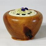 Silky Oak Timber Potpourri Holder #art00333