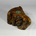 Tallow Wood Timber Tealight Holder (Tree Root) #art0348