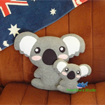 Koala Pillow Plush / Koala Plush / Koala Softie / Koala Toy