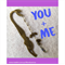 YOU AND ME antique bronze mermaid bookmark