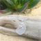 White Sea Glass Starfish Pendant