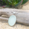 White Sea Glass Pendant