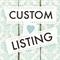 Custom Order for Gina