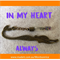 IN MY HEART ALWAYS small mermaid bookmark