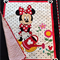 "NO. 43 - MINI MOUSE QUILT 40"" X 34.5"""
