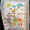 """NO. 8 - PINK TURTLE QUILT/PLAY MAT    41"""" X 35"""""""