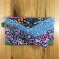 Break the Rules Wristlet - wild flowers
